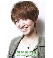 2012女生帅气短发图片大全