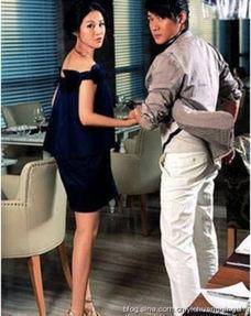 瘦直白 盘点陆毅娇妻鲍蕾逆天长腿美照