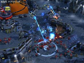 星际拾荒从2010开始-人族基地现身 星际争霸II官方新截图