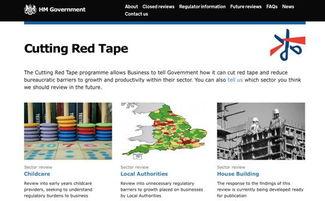 有一个专门减少官僚主义的网站:   这个词出自经济学人5月7日...