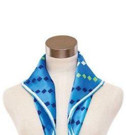 教你常见的丝巾系法及图解