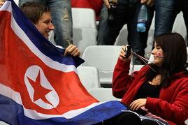 顽强的朝鲜赢得了他国美女球迷的心-世界杯32强女球迷面孔 美国丽人...