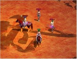 血染神巅-所有等级达到未转120级的玩家,将可在比赛结束后至王城NPC