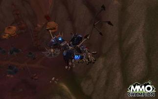 巫妖王之怒 死亡骑士坐骑骷髅鸟新造型