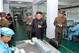 朝鲜手机用户飙升 金正恩用iPhone掀智能机热潮 高清组图