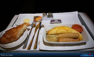 ...j的飞行游记 TG910 泰航十集游记之六A340 600C舱 曼谷BKK 伦敦...