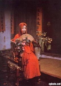 中国最早的一批彩色照片