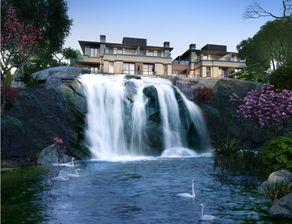 伫望逝水-溪谷瀑布意境图   行走其间,耳畔淙淙流水声,眼望处花溪逐浪,而每...
