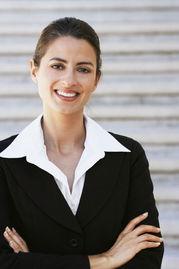 自信笑容的商务美女 图片素材 编号 20110815010725 职业人物 人物图...