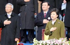 朴槿惠就职韩国总统 3无美女成现代东北亚首位女性国家元首