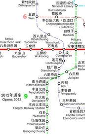 北京地铁9号线(图中绿色线路)-本市三条地铁新线今日14时开通