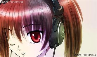 ... 御姐齐上阵 动漫MM教你认清耳机