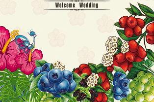 背景图水果超市海报创意设计创意设计水牌创意水果手绘水果创意手绘...