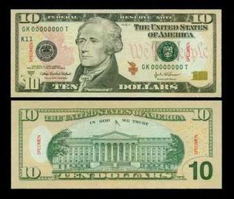 美法院判定美元纸币歧视盲人