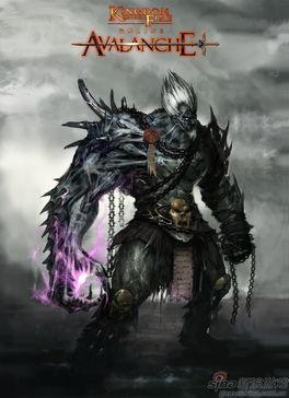 希尔达尼亚帝国之雪焰骑士-...网游巨作 炽焰帝国OL 雪崩 原画首曝光