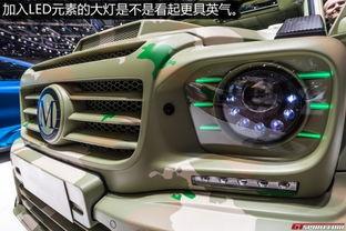 ● Mansory改装敞篷版奔驰G级动力改装/内饰改装奔驰G级-周末改装车...