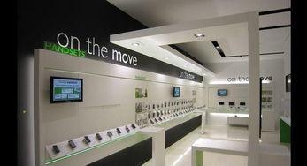 智能手机店设计装修效果图