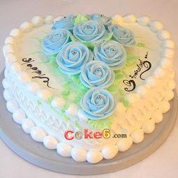 好看生日蛋糕创意图