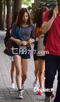 SM新女团最新街拍图片 吸睛染色发尾魅力不凡