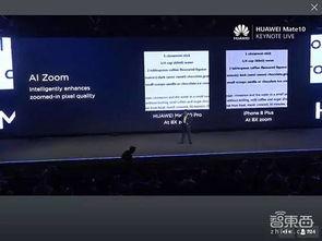 而且,通过AI技术,Mate 10可以对放大失真的图像进行优化.-华为AI...