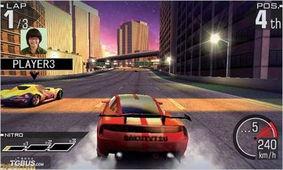 山脊赛车3DS 最新情报公开,游戏画面拔群