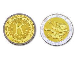 黄金银元-金 银币