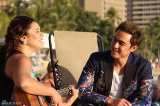 ...展现出生活中最真实阳光帅气的一面.-组图 明道夏威夷随拍宛若邻...