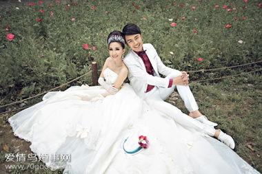 重庆外景婚纱照哪家好 8K拉摄影 与您携手大木花谷