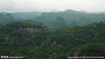 丹霞山风景图片