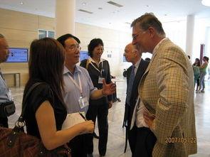 ...陆延昌理事长、李若梅常务副秘书长与CIGRE秘书长及技术委员会主...