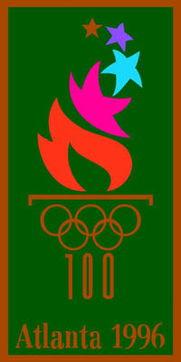 历届夏季奥运会会徽 1996年亚特兰大奥运会