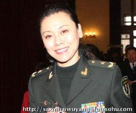 刘敏少将 我军最年轻的女少将