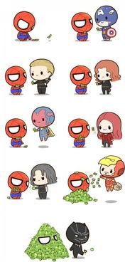 人人都爱蜘蛛侠(绘师:@基质的菊长大人)   「 hi,请记住我们哦,...