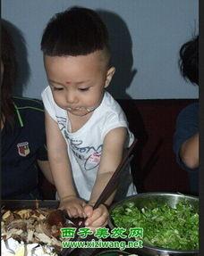 超酷的两岁男宝宝发型