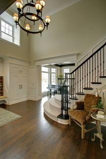 花色贴砖楼梯设计