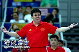 国际女排精英赛昆山站,中国女排迎战第二场对手多米尼加队.图为现...