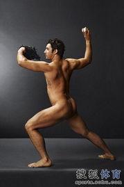 裸展现完美无瑕健美身姿的写真,让人大饱眼福.