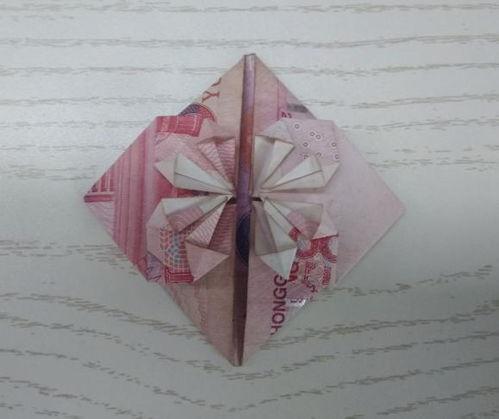 100元纸币折爱心教程 钱怎么折爱心最简单的