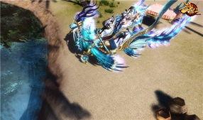 《斗仙》碧海游龙五人坐骑截图-霸气叼炸天 斗仙 首款五人坐骑曝光