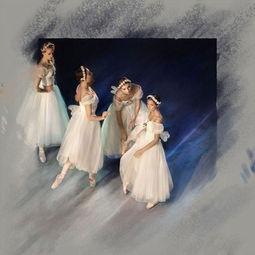 在诉说芭蕾舞的昨世今生,Mark olich将摄影的丰富细节与绘画的狂放...