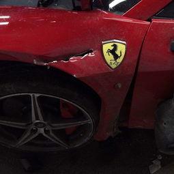 ...撞毁兰博基尼 北京跑车相撞有三大谜团 遗落高跟鞋谁的