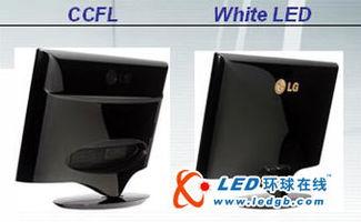 LED背光显示器与传统CCFL背光效果图文对比