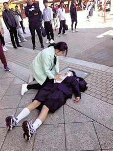 ...者无国界 河南女护士日本旅行救助日本女中学生
