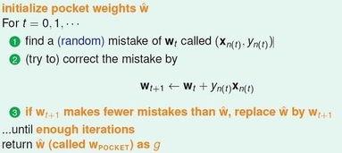 LA 的区别:迭代有限次数(提前... 随机地寻找分错的数据(而不是循...
