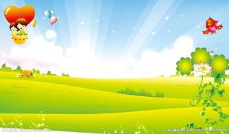 幼儿园背景广告图片