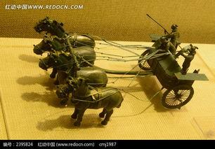 四马战车模型高清图片下载 编号2395824 红动网