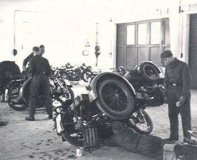 二战德军部队摩托化装备