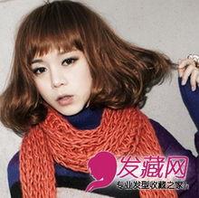2014最新流行的中短发发型 气质女生的最爱 3 短发发型 发藏网