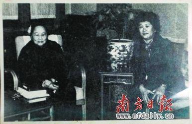宋庆龄和李若梅合影.曾强 翻拍-女儿长大了,我还是想回到祖国来