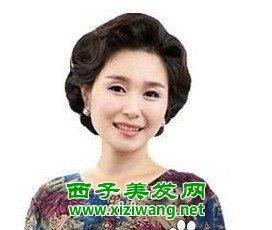 ...士发型大全,让中年女性风韵犹存